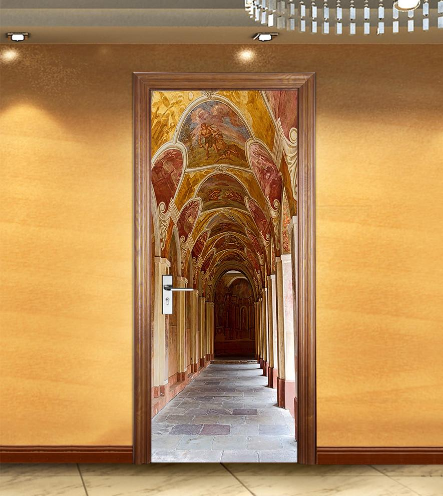 Decoration 3d Murale 3d Beautiful Decoration Gallery Door Mural