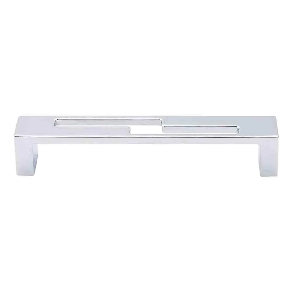 Modern Chrome Cabinet Pulls Top Knobs Sanctuary Ii Modern Metro Z Pull