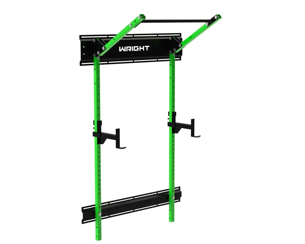 Garage Gym Half Rack Wright Elite Lean Garage Rack With Install Kit Included