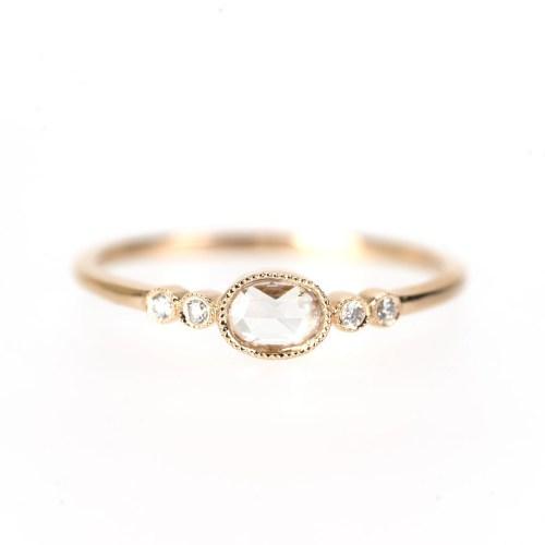 Medium Of Rose Cut Diamond