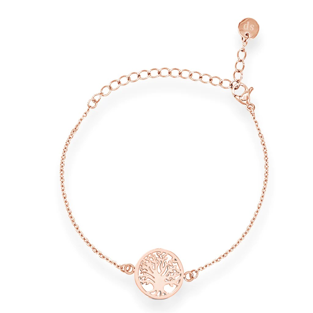 Rose Gold Armband Armband Tree Of Life