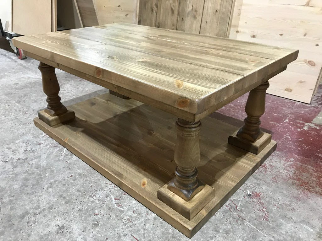 Farmhouse Coffee Shop Refectory Farmhouse Coffee Table