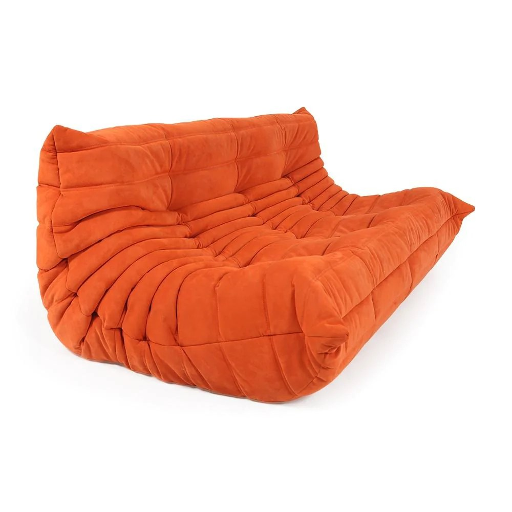 Ligne Roset Sofa Ligne Roset Orange Togo Sofa Without Arms