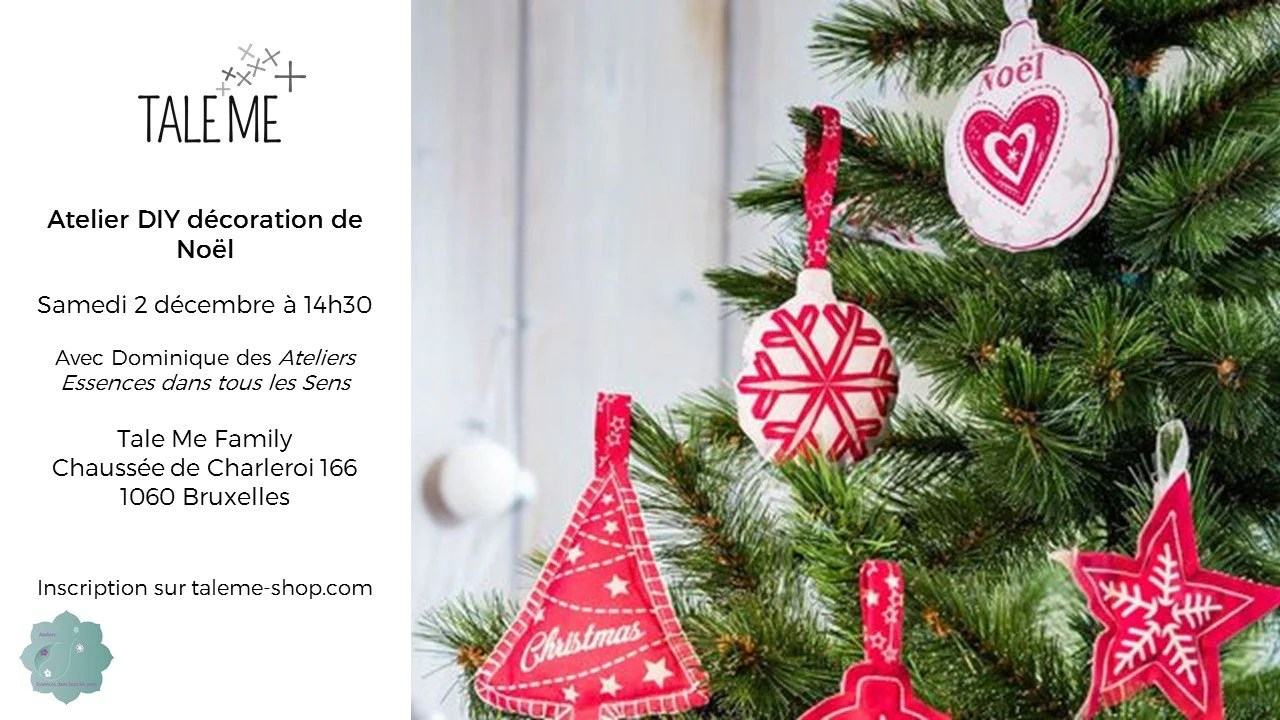 Atelier Decoration De Noel Atelier Diy Décoration De Noël