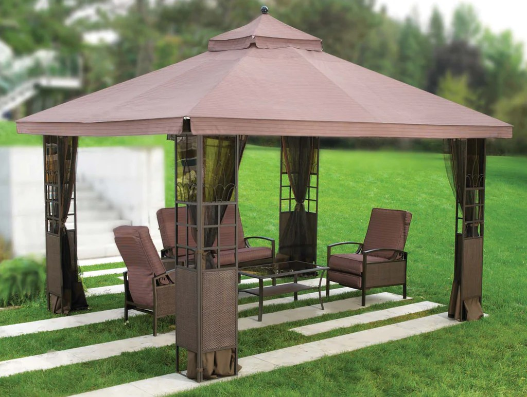 Replacement Canopy Top for YH-1103 10'x12' Tea Glass ...