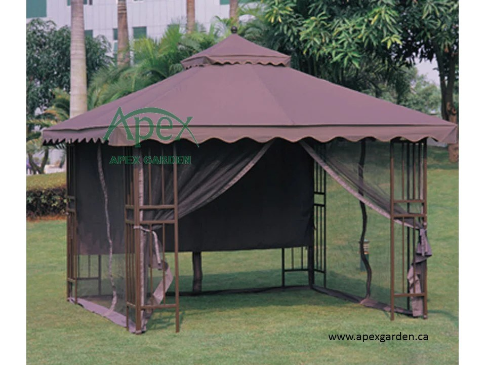 Replacement Canopy Top for YH-6011-3 10'x10' Gazebo – APEX ...