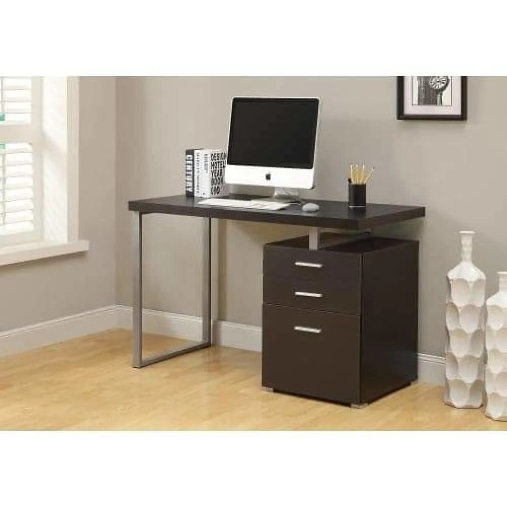 Desks With Drawers Wide Particle 47 Inch Board Computer Desk With Drawer