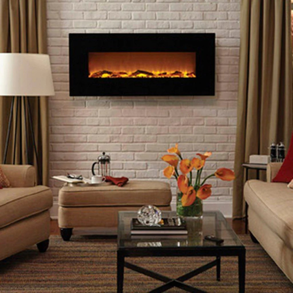Living Room Electric Fireplace Onyx 80001 50