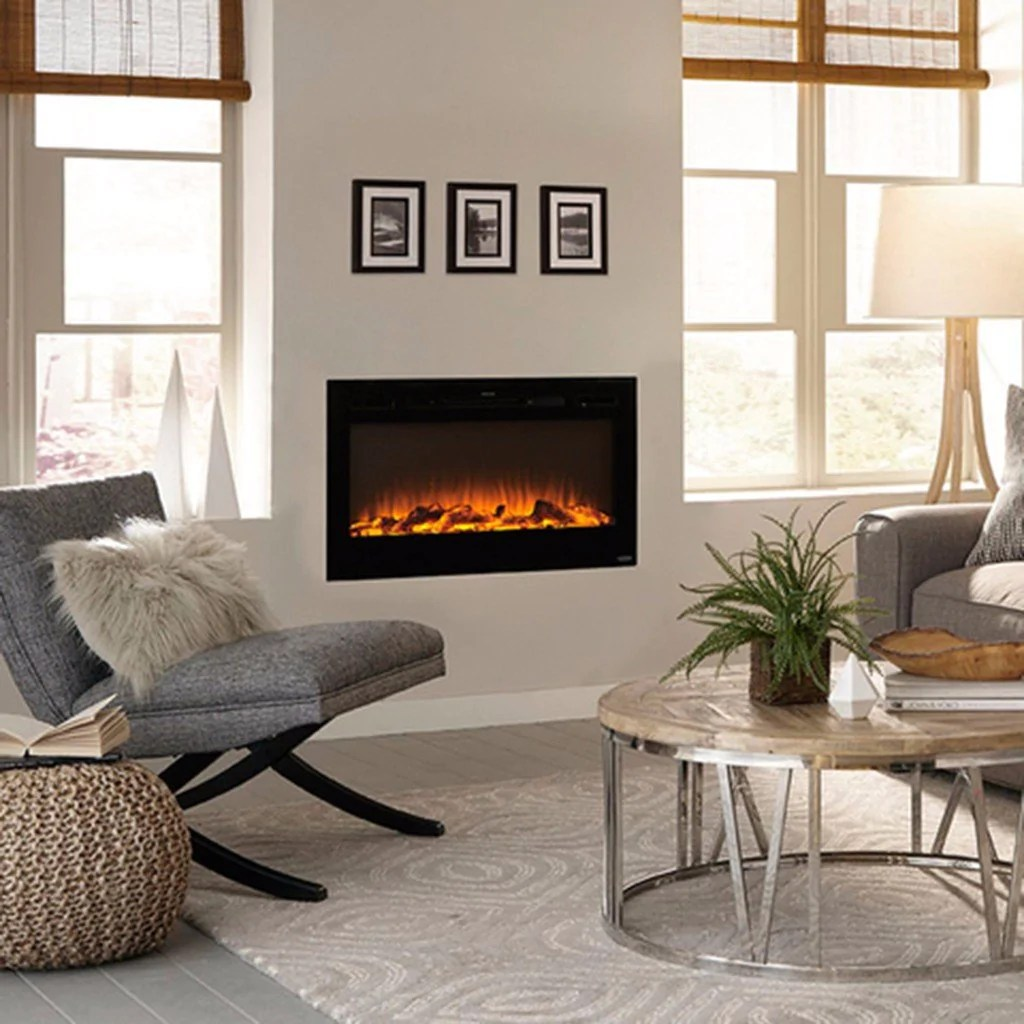 Living Room Electric Fireplace Sideline 36 80014 36