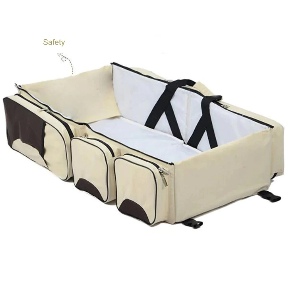 Baby Travel Mattress 3 In 1 Baby Travel Bag Pillow Bread Inc