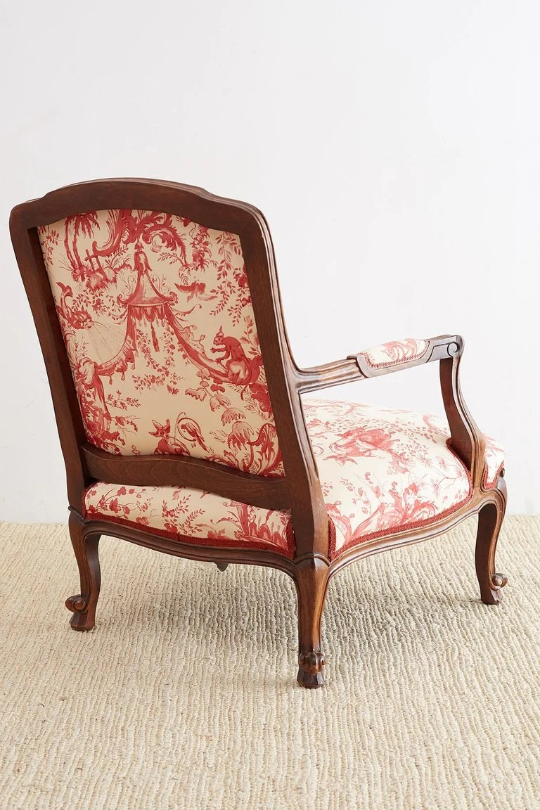 Fauteuils Toile Louis Xv Style Fauteuil Armchairs With Scalamandre Chinoiserie