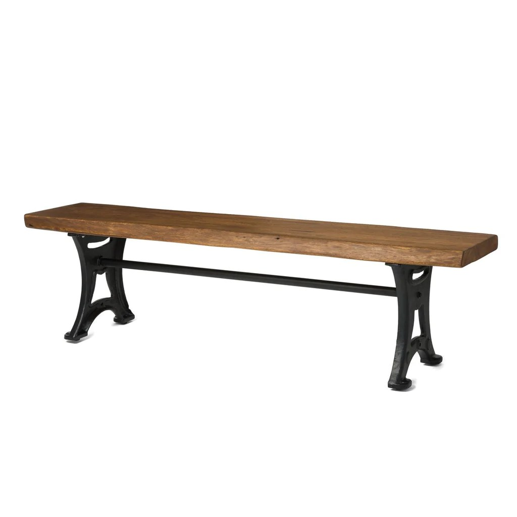 Wooden Bench Table Foundry Dining Bench