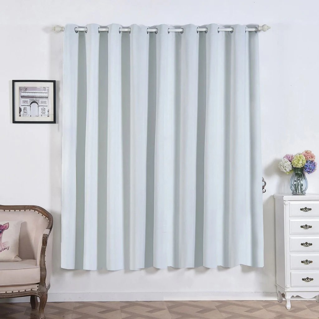 Teal Silver Curtains 2 Pack 52
