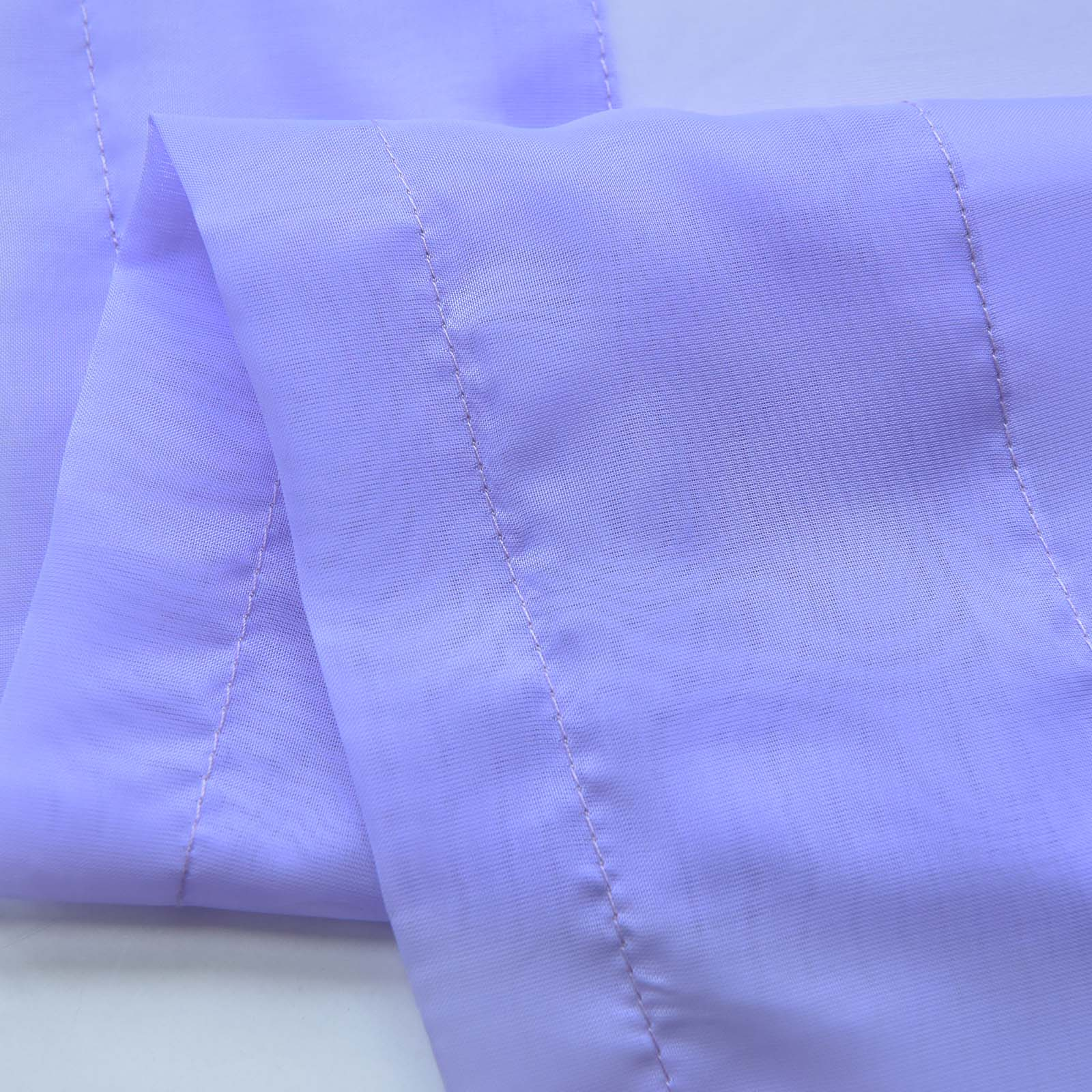 Lavender Sheer Curtains 2 Pack 52