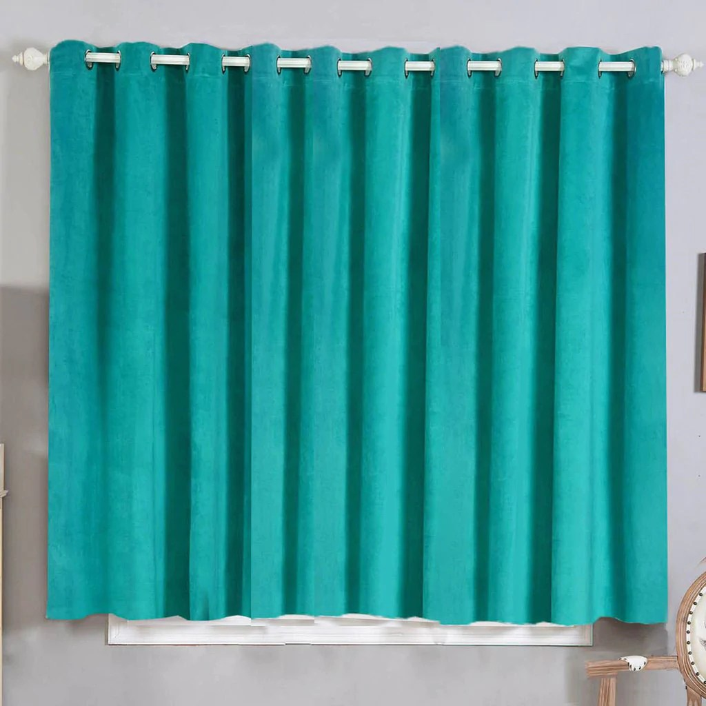 Teal Blackout Curtains 2 Pack 52