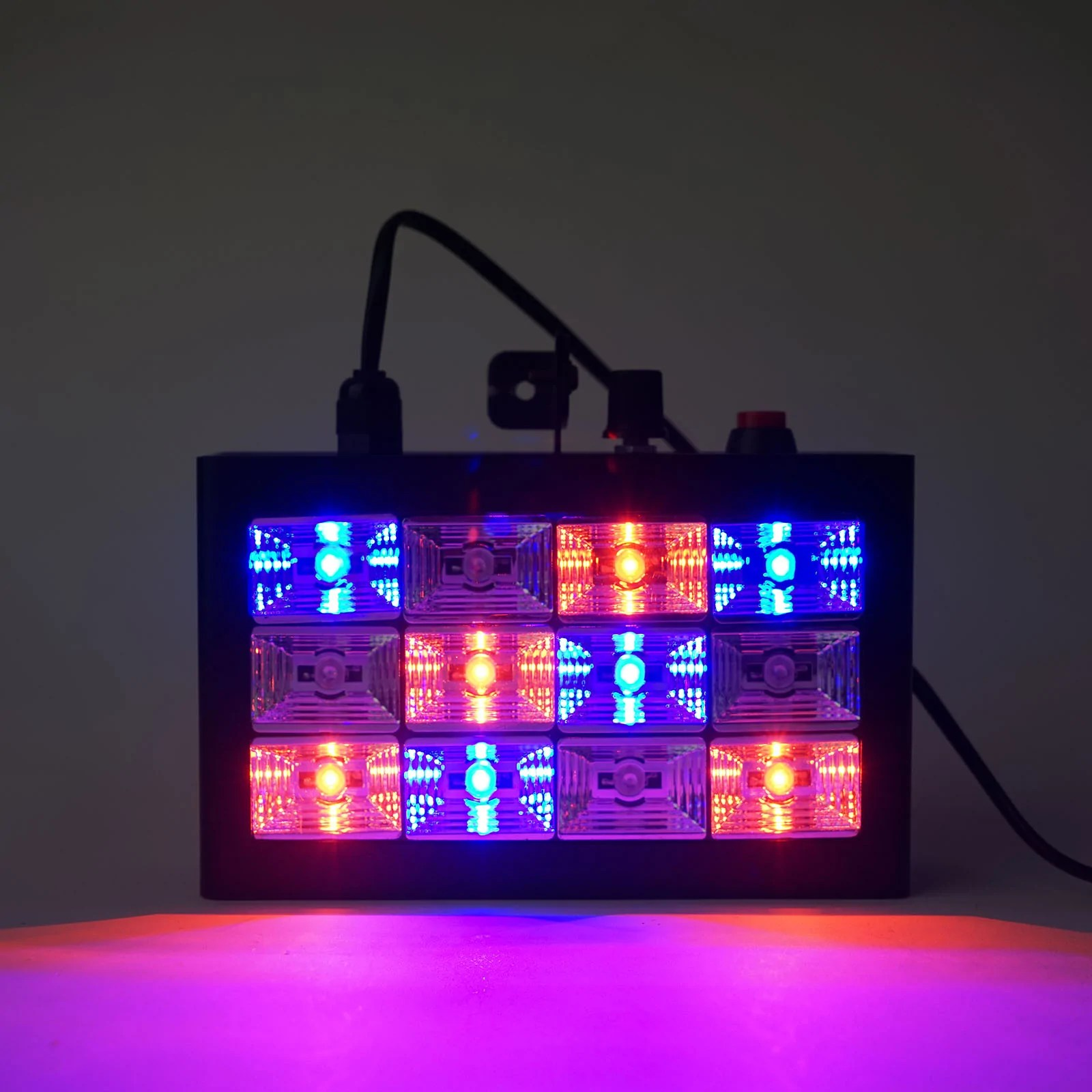 15 Watt Led 15 Watt 12 Led Sound Activated Dj Stage Strobe Flash Light With