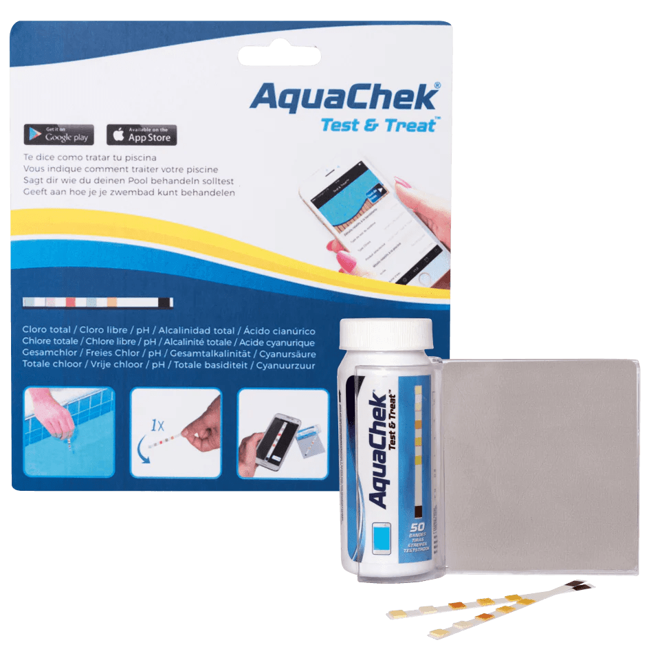 Chlor Pool Test Aquachek Test And Treat