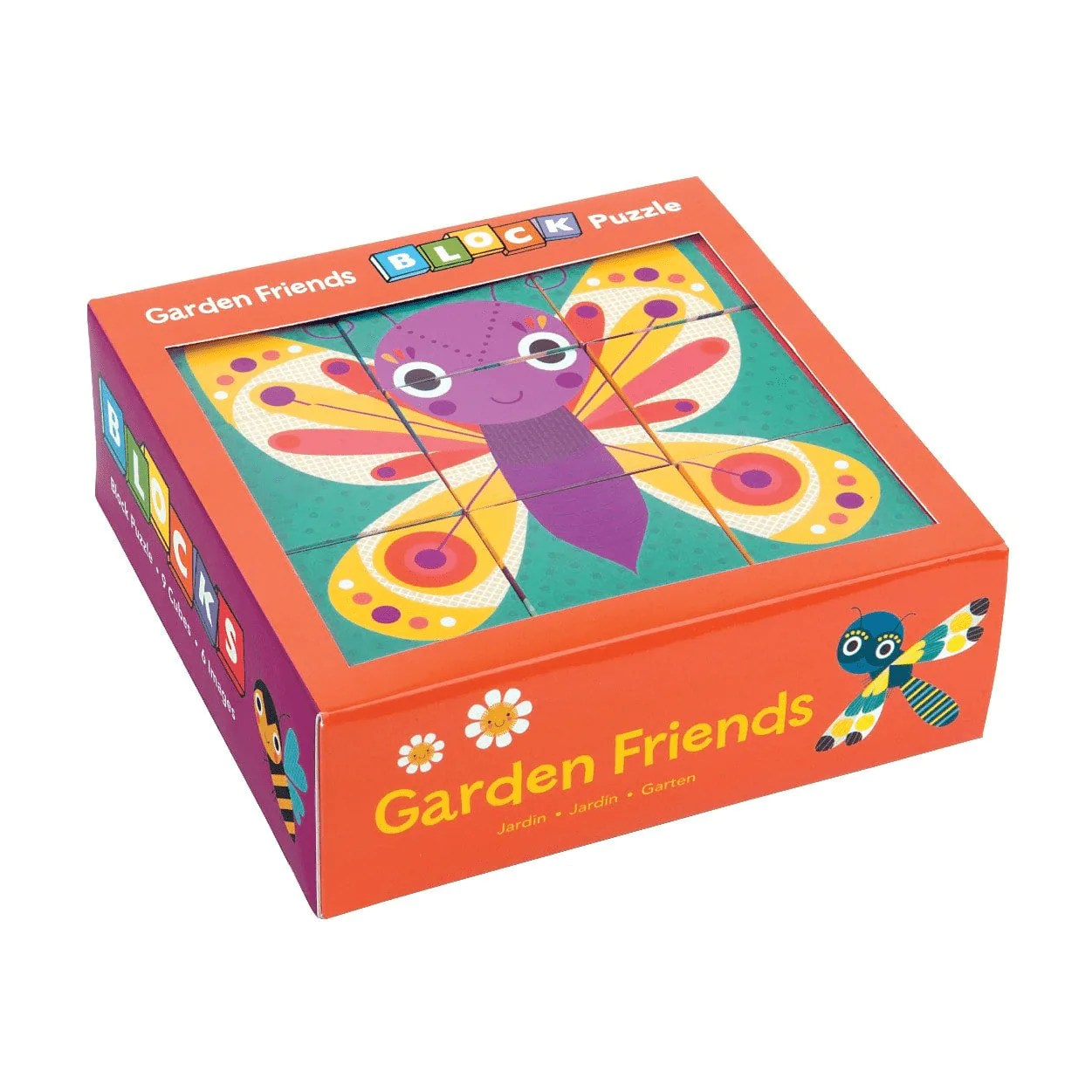 Garten Design Owl Garden Friends Block Puzzle