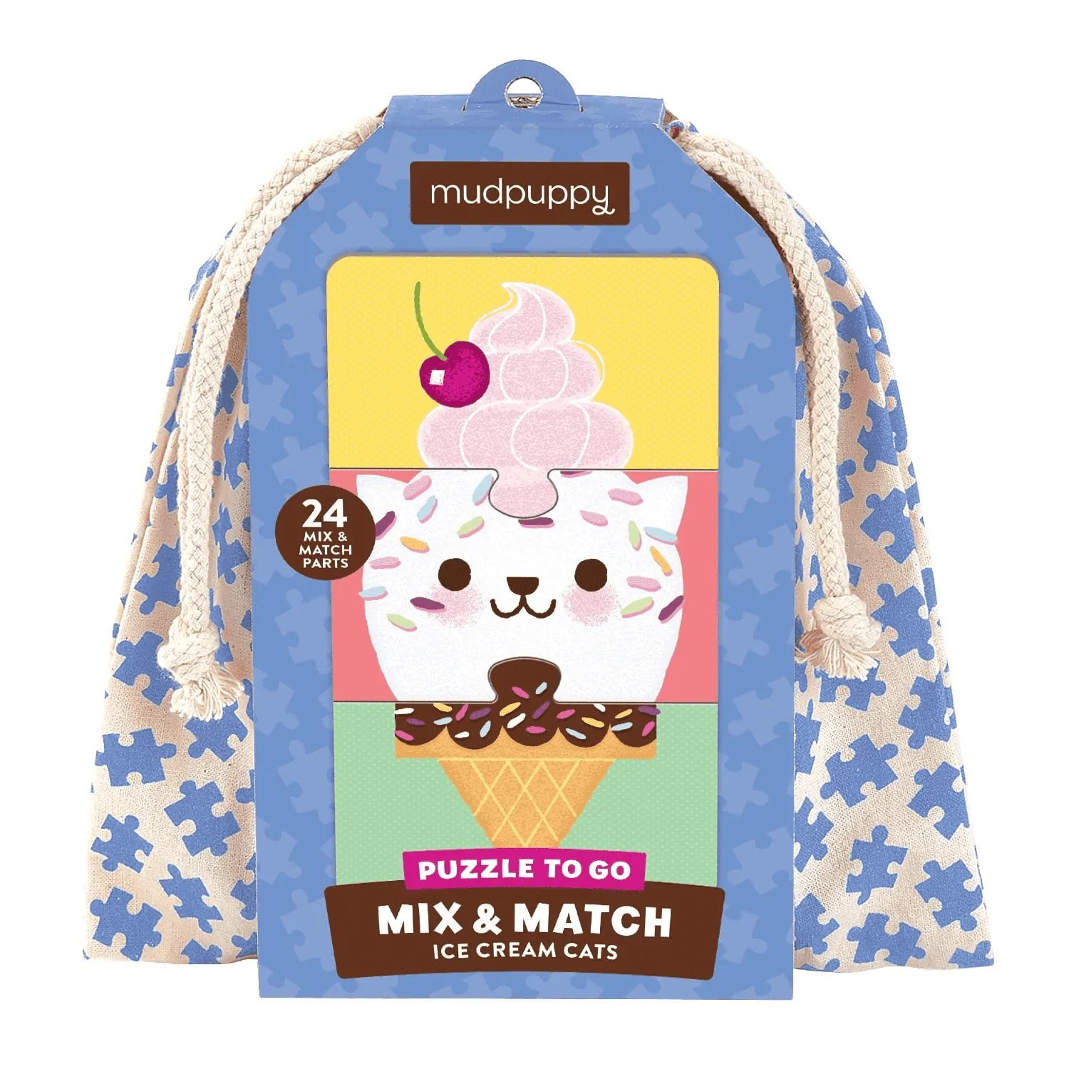 Mix And Match Ice Cream Cats Mix Match Puzzle To Go