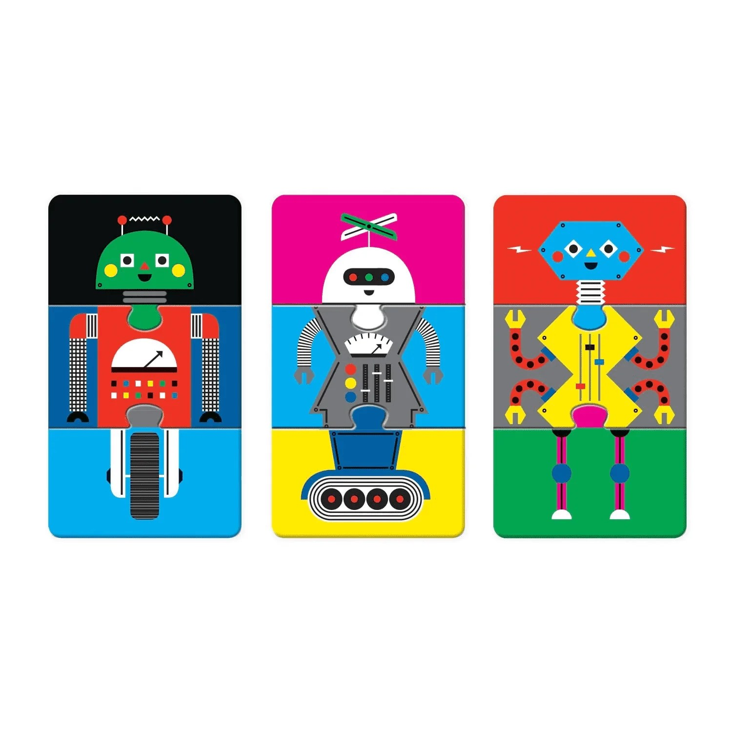 Mix And Match Robotics Lab Mix Match Puzzle To Go