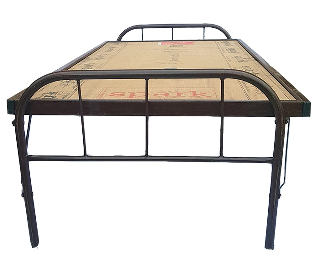 Folding Double Guest Bed With Mattress Folding Beds Homegenic