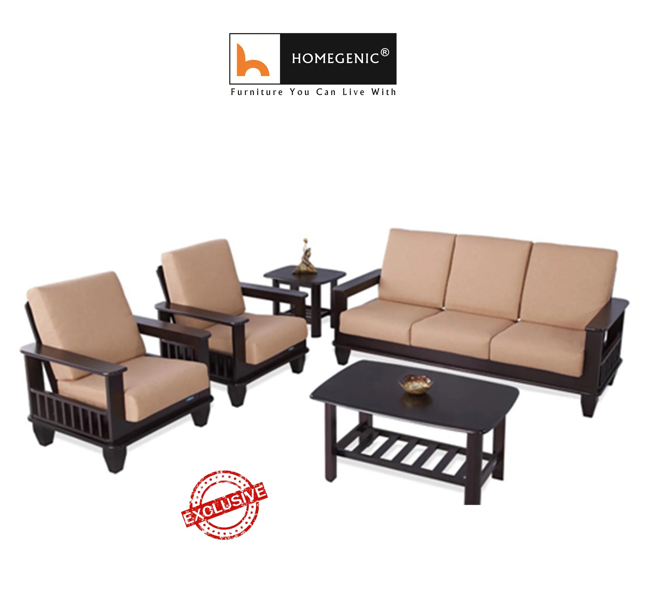 Couch Leder Cappuccino Sofa Set With Table