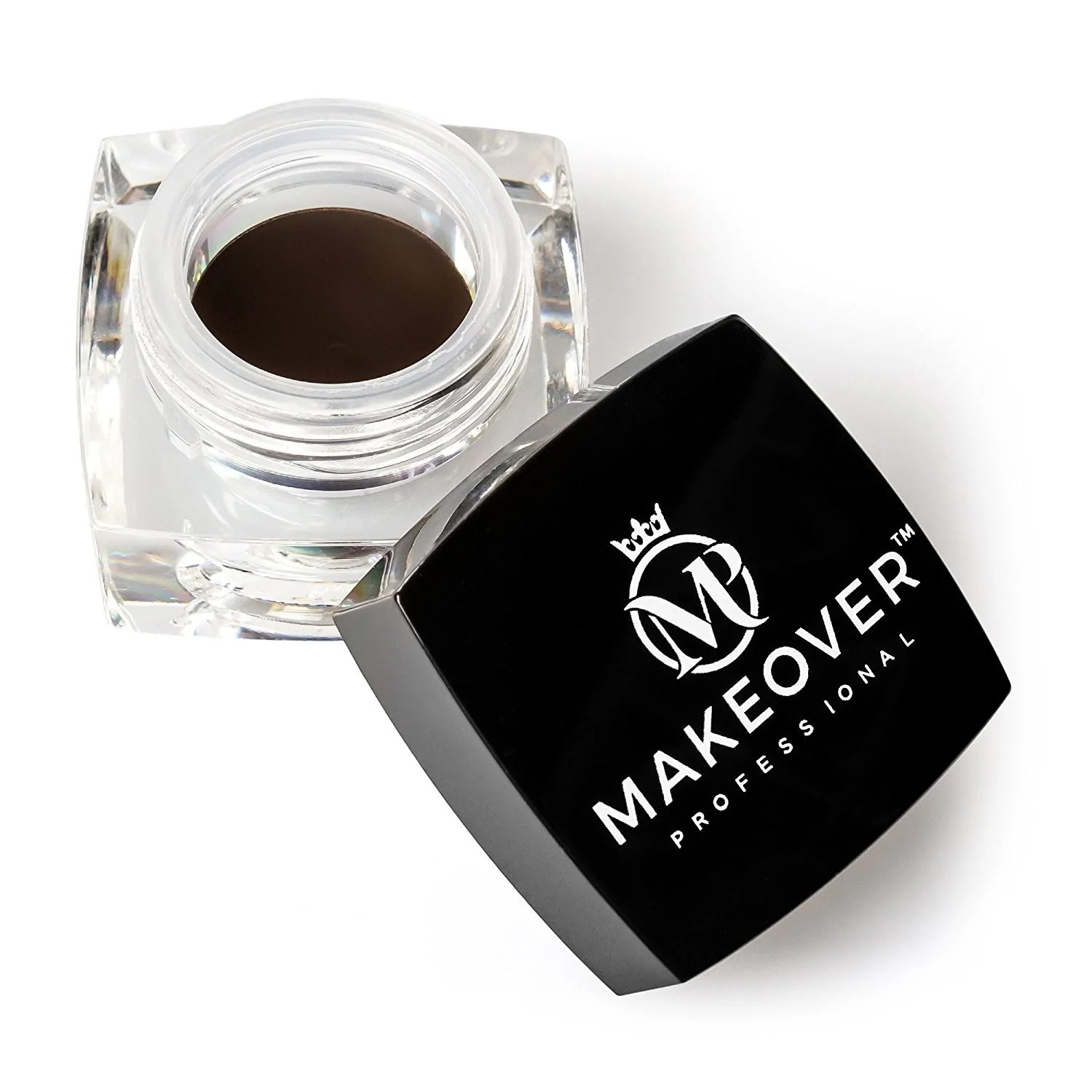 Make Over Eyebrow Pomade Dark Brown By Makeover Professional Premium Makeup To Create Your Desired Look 14 Ounce 4 0g Dark Brown