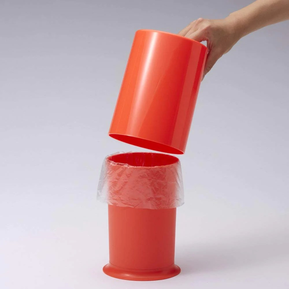 Mini Plastic Trash Can With Lid Ideaco