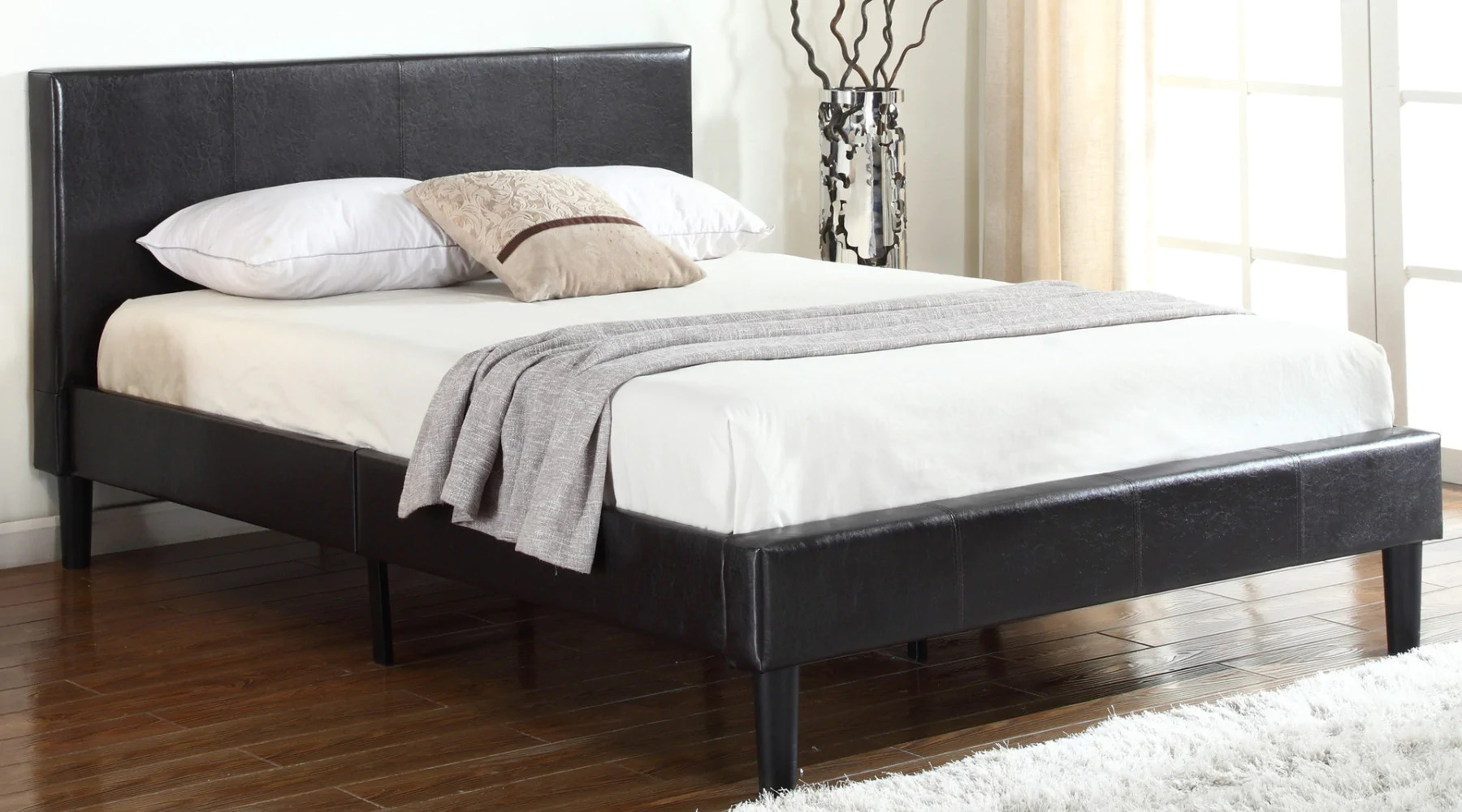 Leather Bed Kenya Bonded Leather Bed