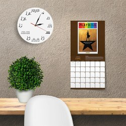 Small Crop Of Wall Clock Artistic
