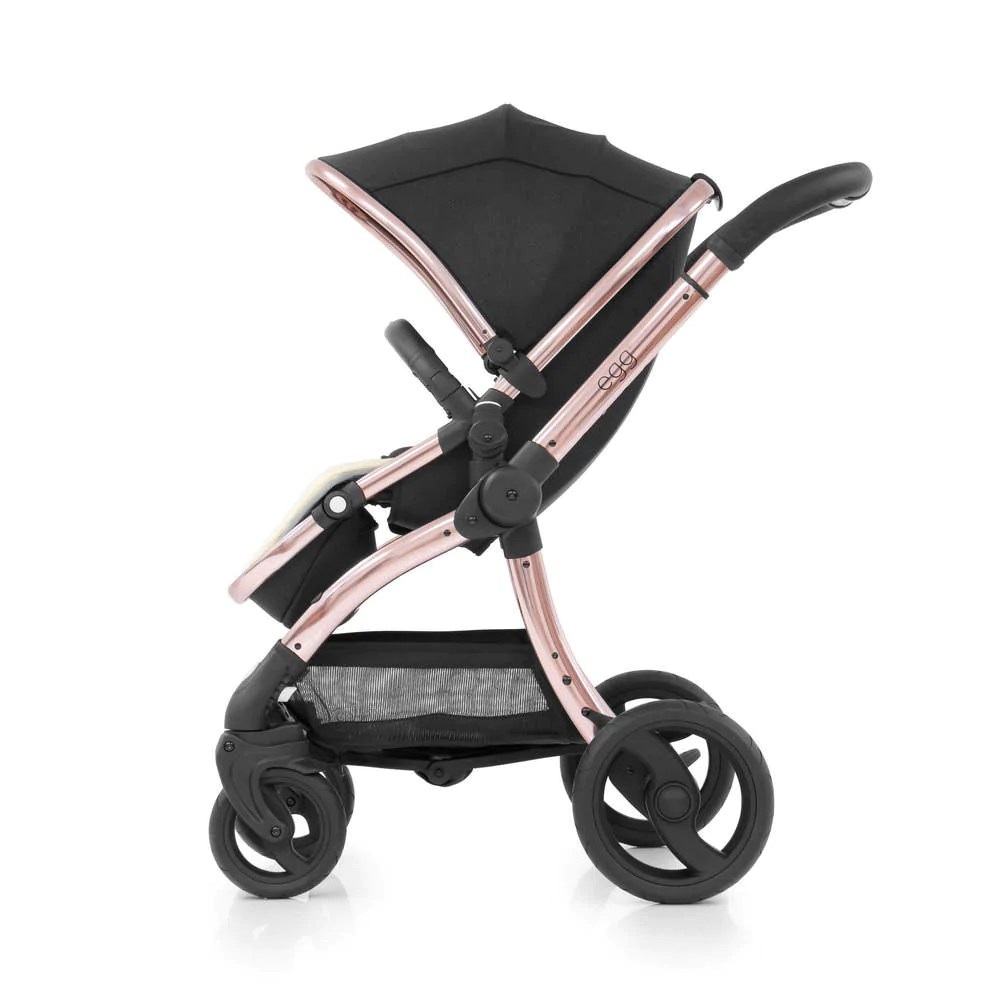Egg Pram Replacement Wheels Babystyle Egg Stroller Special Addition Diamond Black