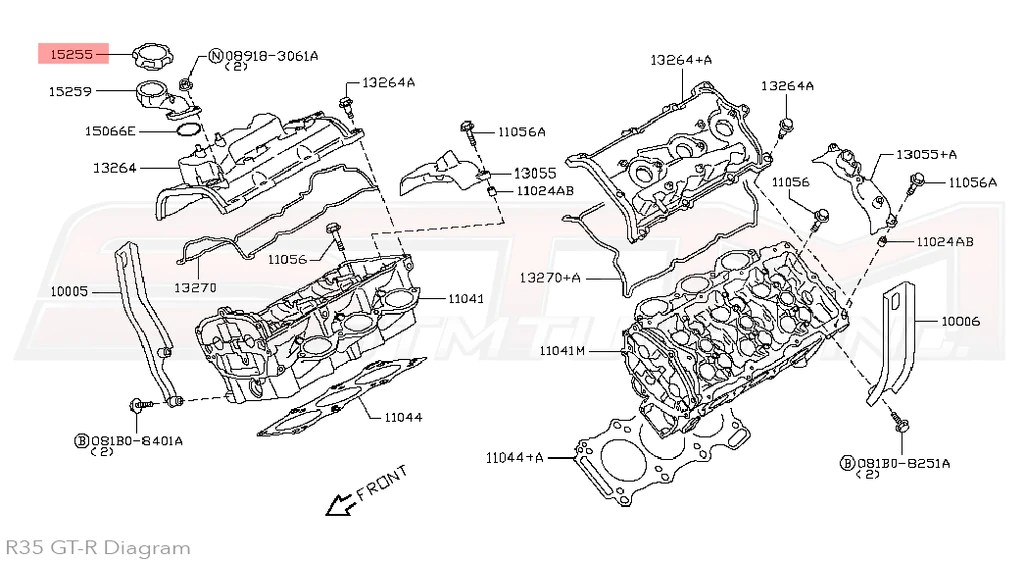 h25 nissan engine oiling diagram