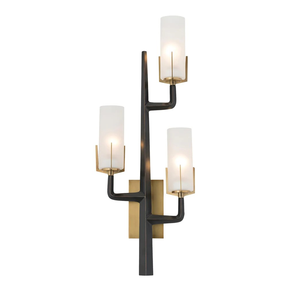 Industrial Media Console Arteriors Home Griffin Sconce – Clayton Gray Home
