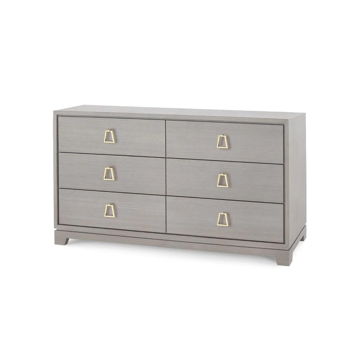 6 Drawer Chest Of Drawers Stanford Extra Large 6 Drawer Chest Light Gray