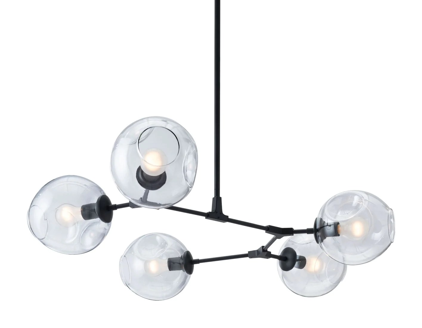 Zuo Modern Lighting Canada Zuo Modern Odense Ceiling Lamp Black 56063