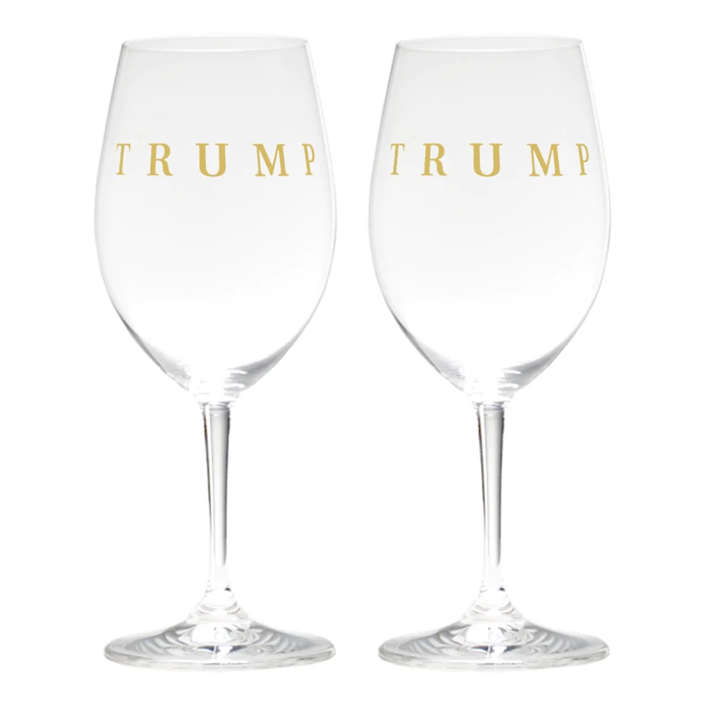 Red Wine Glasses For Sale Trump Riedel Red Wine Glass Set Of 2