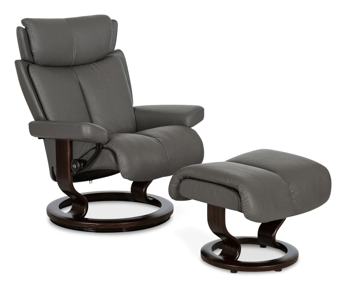 Stressless Paloma Stressless Magic Recliner Ottoman