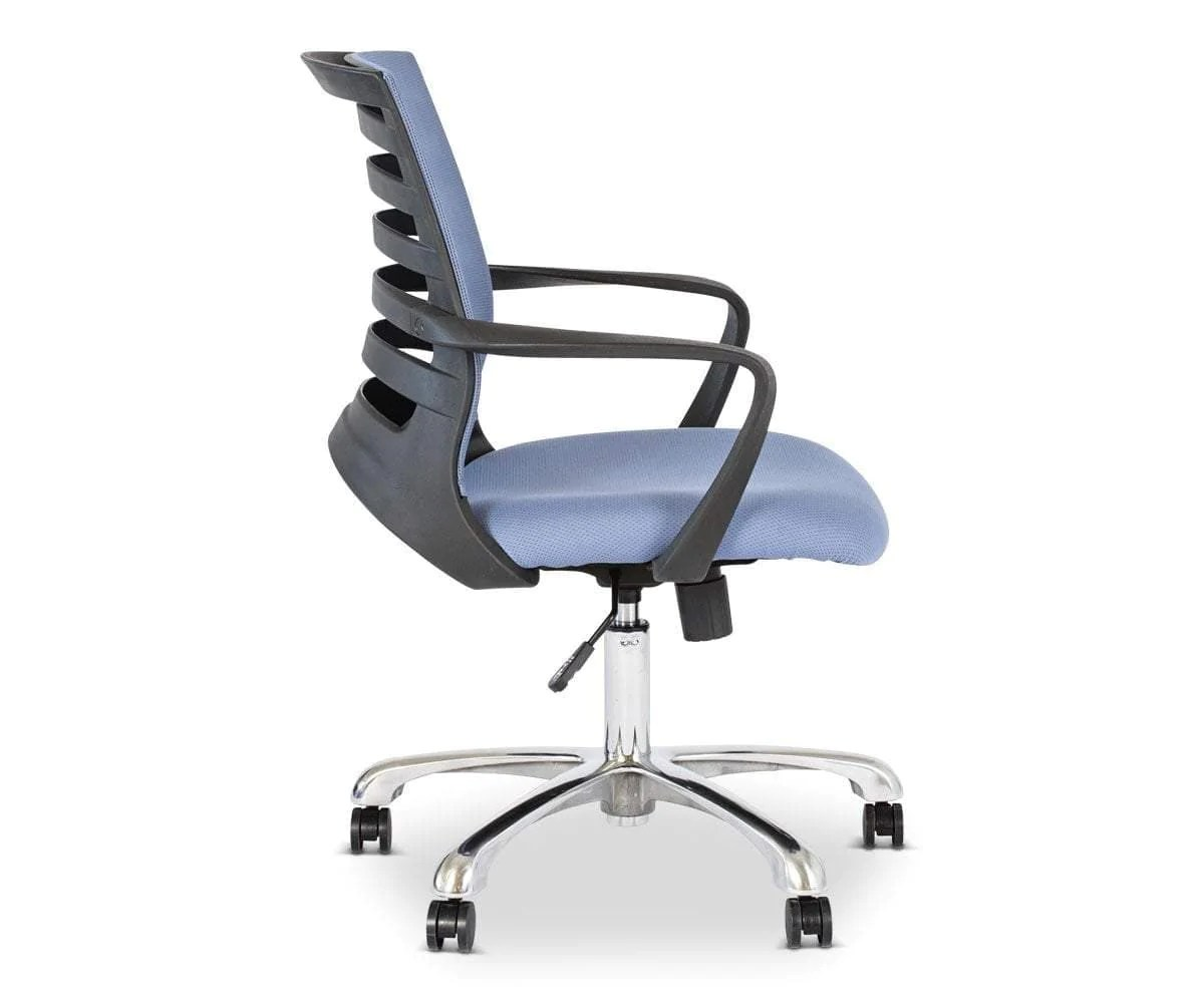 Grey Desk Chair Barrier Desk Chair