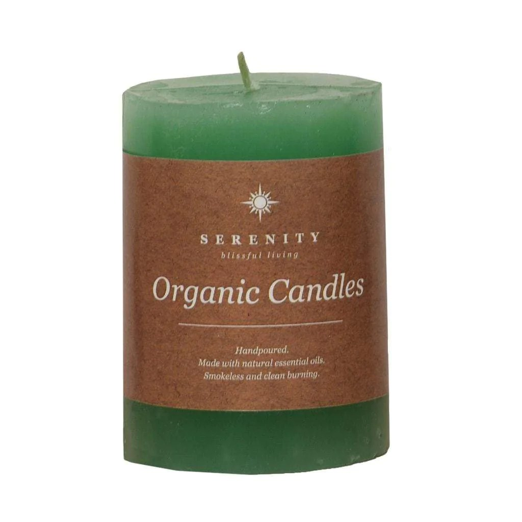 Buy Candles Online Green Aroma Scented Candle 4 X 3 Inches