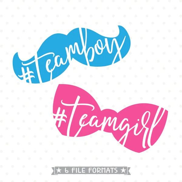 Fall Out Boy Christmas Wallpaper Gender Reveal Svg File Team Boy Svg Team Girl Svg