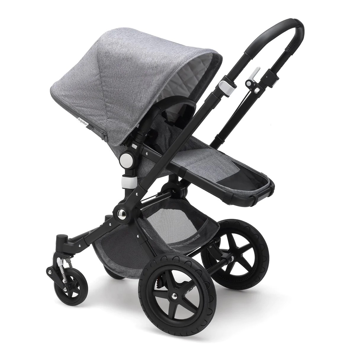 Bugaboo Cameleon 3 Maximum Weight Bugaboo Cameleon3 Classic Grey Melange On Black Chassis