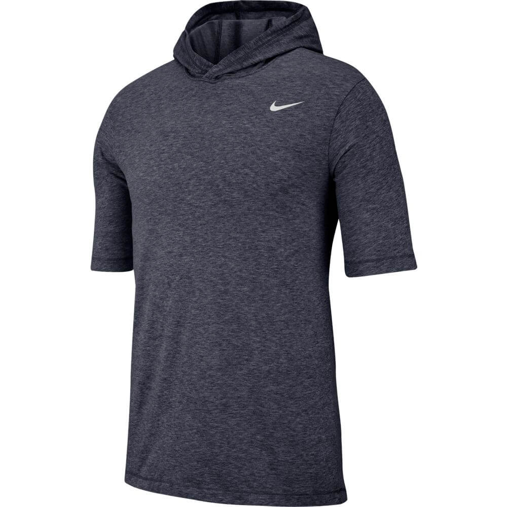 Nike Hoodie Carbon Heather Nike Men S Dry Dfct Tee Hoody Carbon Heather