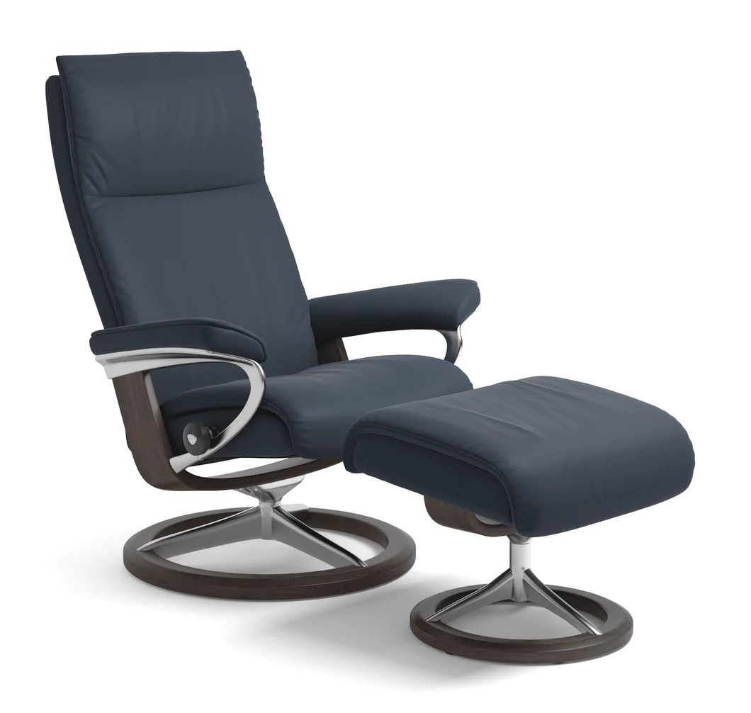 Stressless-world.com Ekornes Stressless Aura Recliner New York