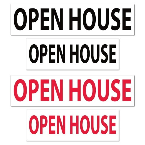 Medium Crop Of Open House Sign