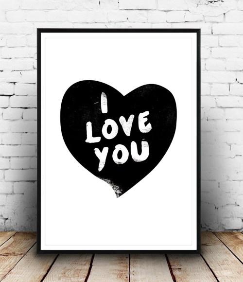 Cheerful I Love You Heart Quote Black Wall Art Black Wall Art I Love You Heart Quote Black Photography Printsm Wall Art Set Tgalleryid C23951black