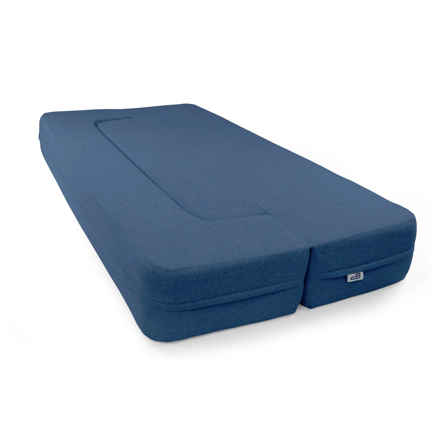 Comfy Mattress Blue Couchbed