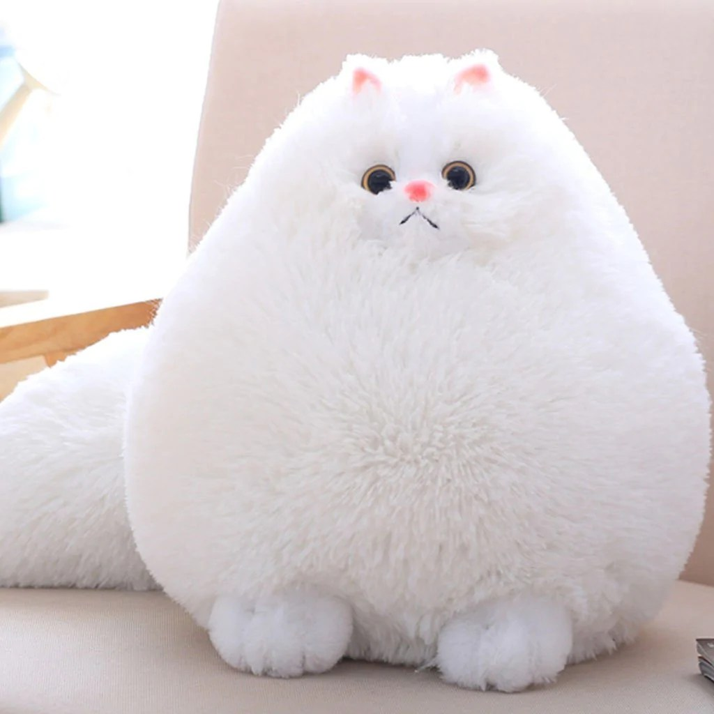 Cat Plush Toy Fluffy Persian Cat Plush Toy