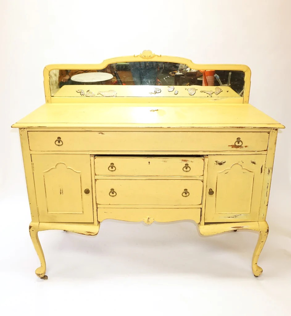 Sideboard Shabby Chic Yellow Shabby Chic Sideboard Cake Table Console 1163
