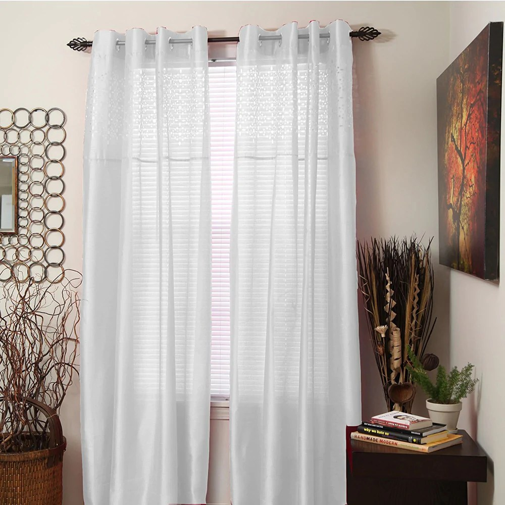 108 Inch Curtain Panels Bedford Home Monica Grommet Curtain Panel
