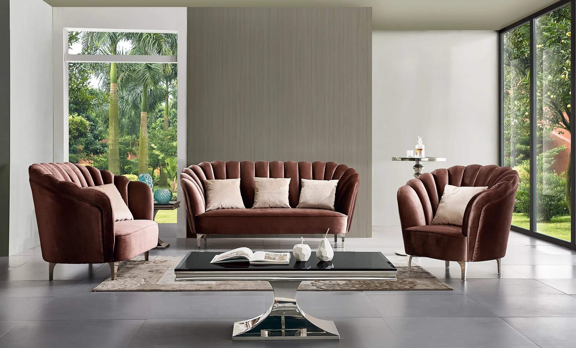 Sofa Leonie Interio Hollywood Interiors Beautiful Furniture Lighting And